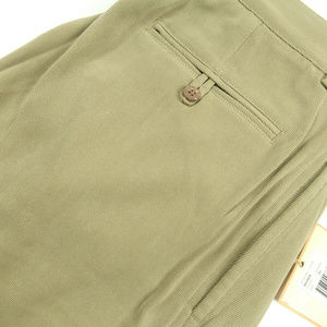 Tommy Bahama Brown Silk Pleated Pants 35x34